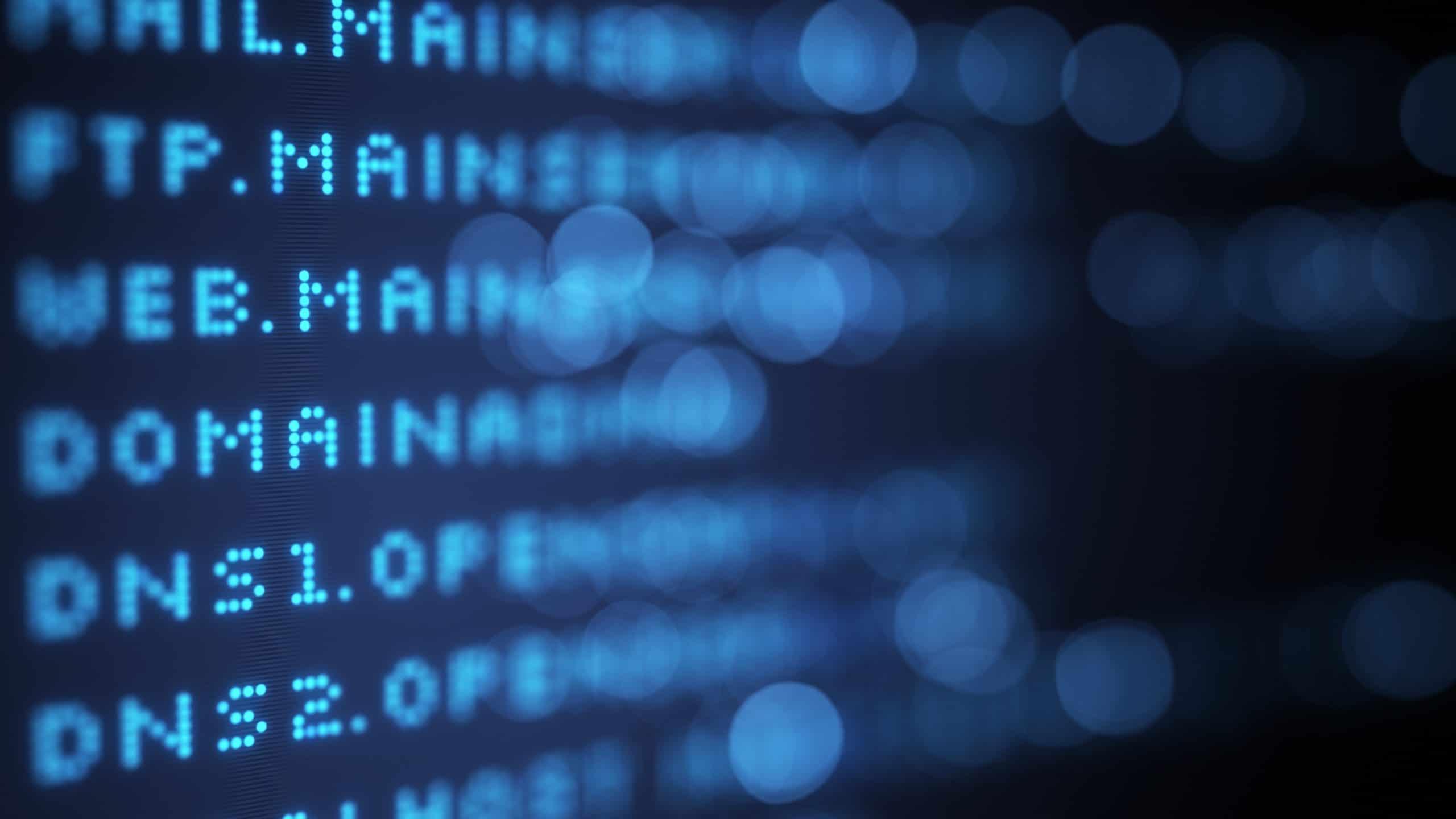 DNS, domínios, IPs e rede