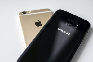 iPhone e Samsung Galaxy