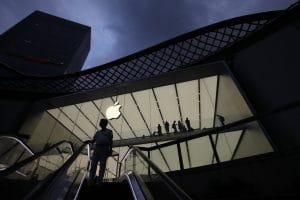 Loja da Apple na China