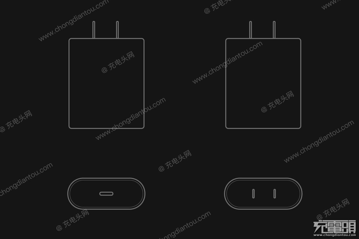 Carregador USB-C que deve vir com os próximos iPhones