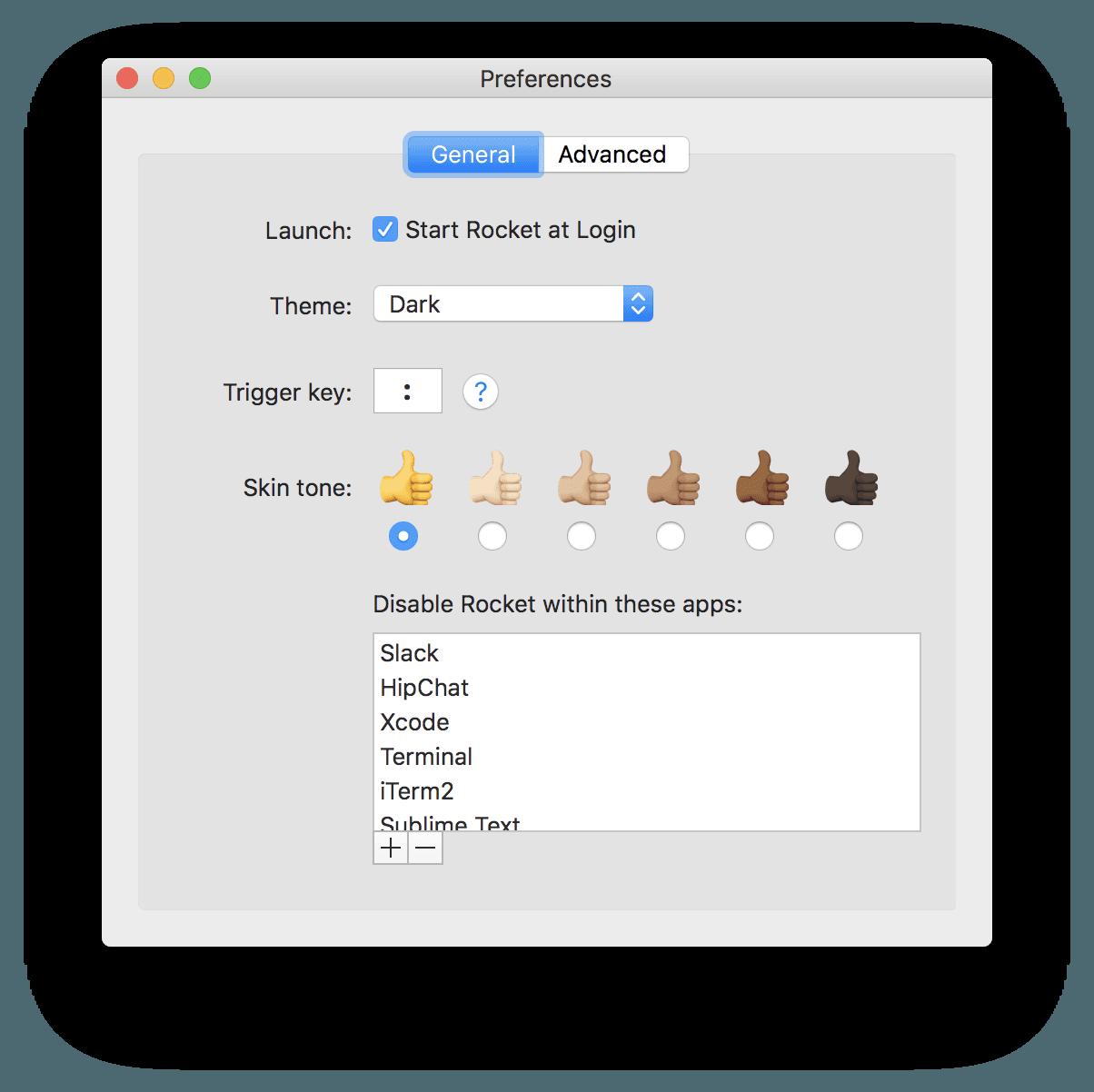 App Rocket para macOS