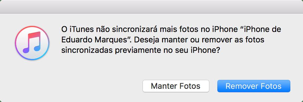 Como apagar fotos do iPhone/iPad/iPod touch que foram sincronizadas pelo Mac