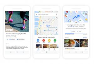Eventos, atividades, opções e listas no Google Maps