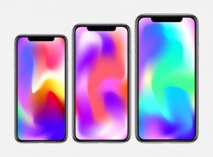 Suposta linha de iPhones para 2018