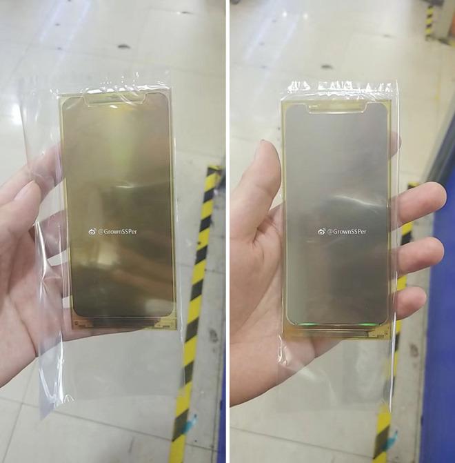 """Possível película de vidro do """"iPhone SE 2"""""""