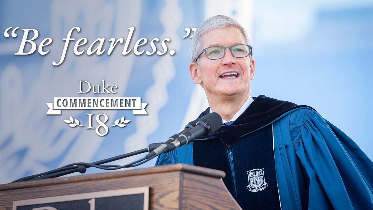 Discurso de Tim Cook na Universidade Duke