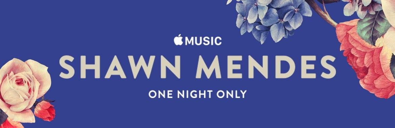 Show do Shawn Mendes para o Apple Music