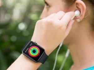 App Atividade, no Apple Watch