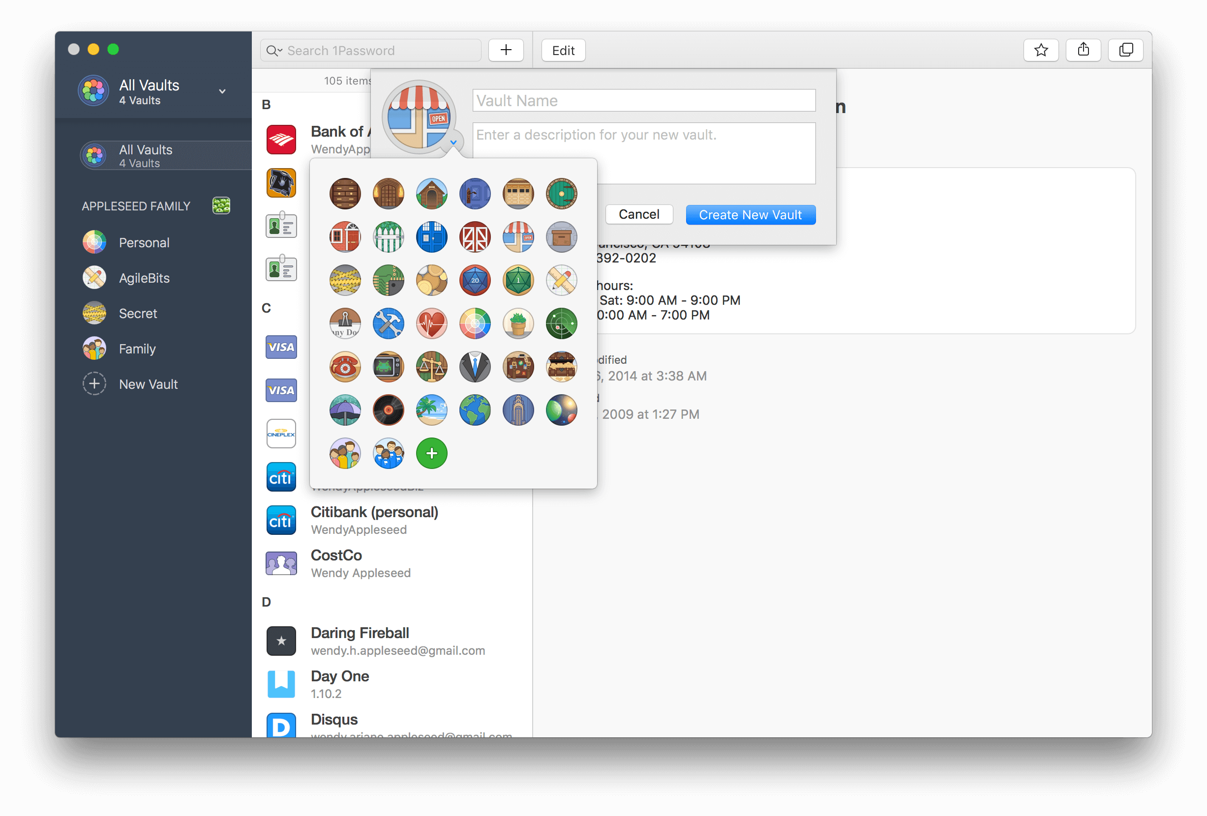1Password 7 para macOS