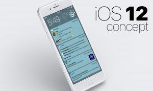 Conceito de Matt Birchler para as notificações do iOS 12