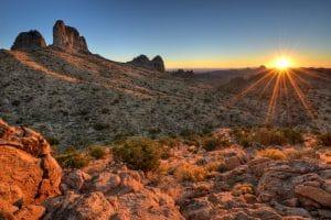 Deserto de Mojave na Califórnia