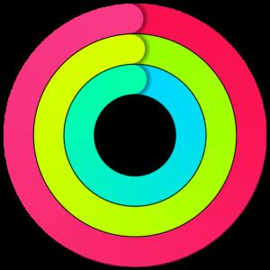 Anéis do app Atividade