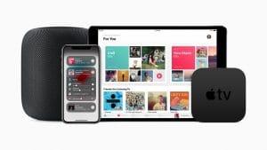HomePod, iPhone X, iPad e Apple TV