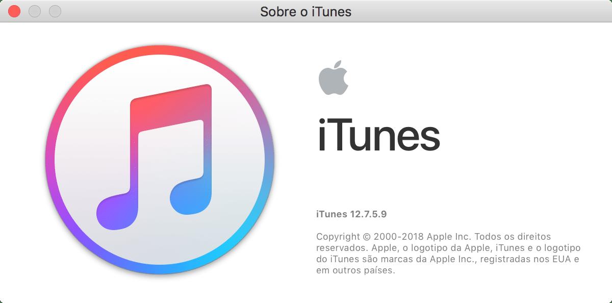 iTunes 12.7.5