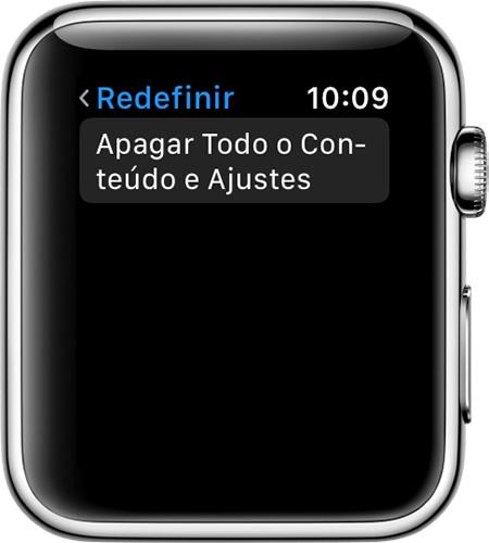 Desemparelhando um Apple Watch