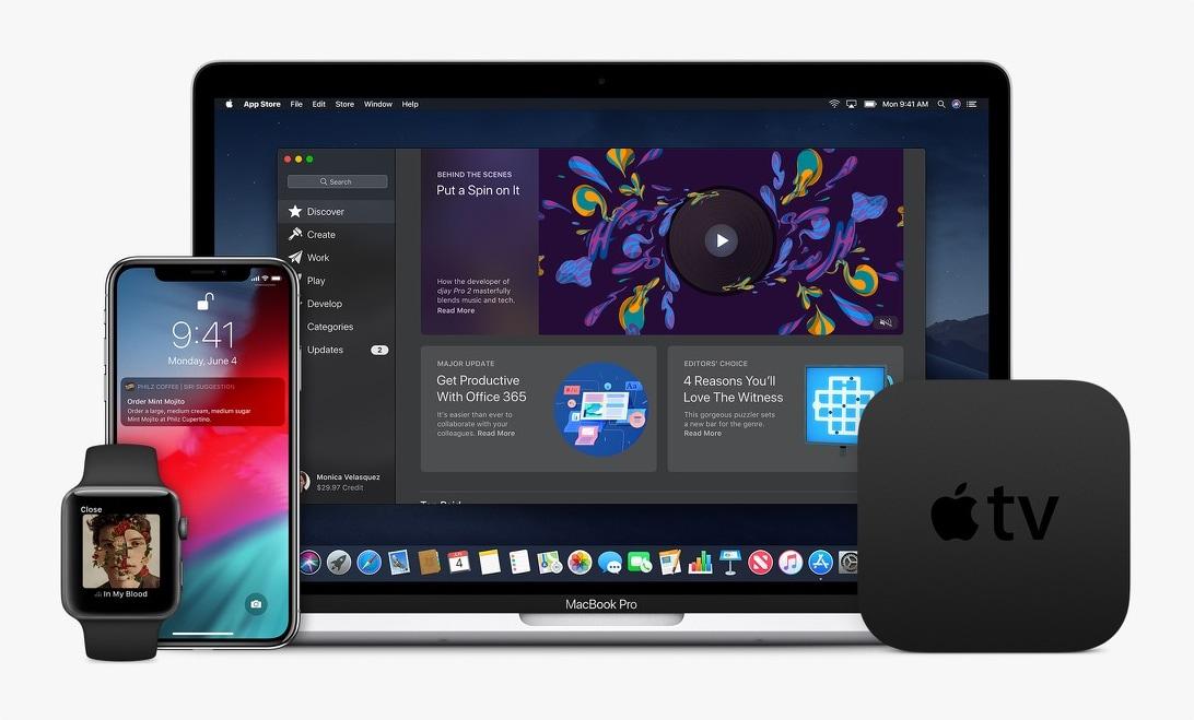 Betas do iOS 12, do macOS 10.14 Mojave, do watchOS 5 e do tvOS 12