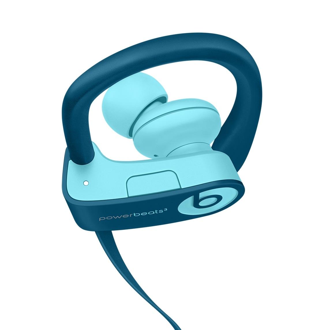 Fones Powerbeats3 Wireless na cor azul pop