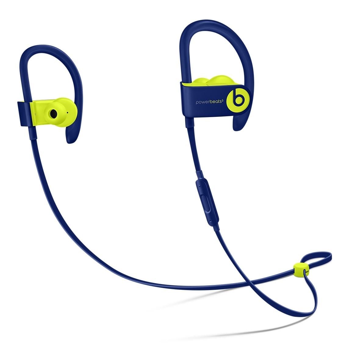 Fones Powerbeats3 Wireless na cor marinho pop