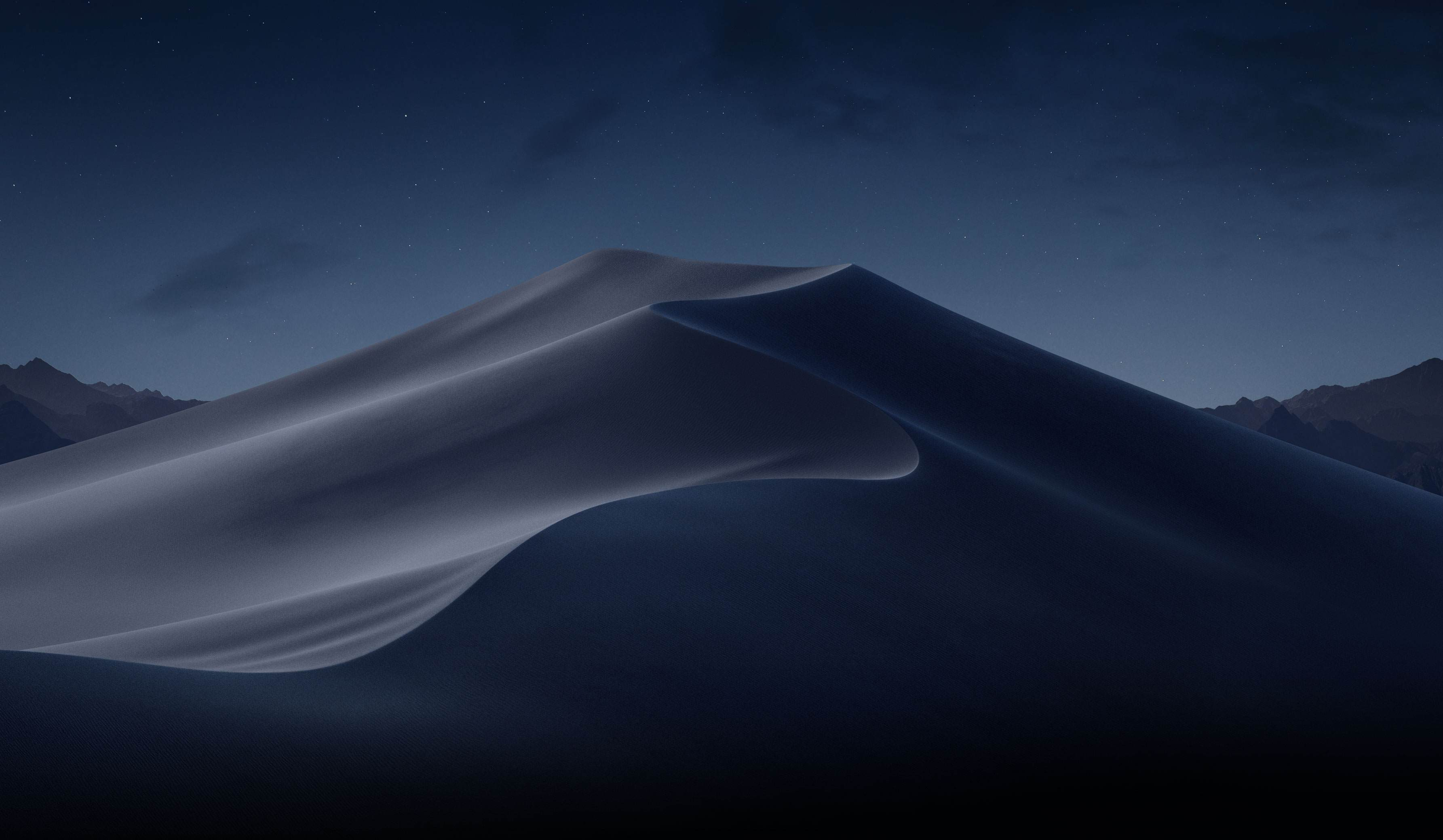 Wallpaper oficial do macOS Mojave