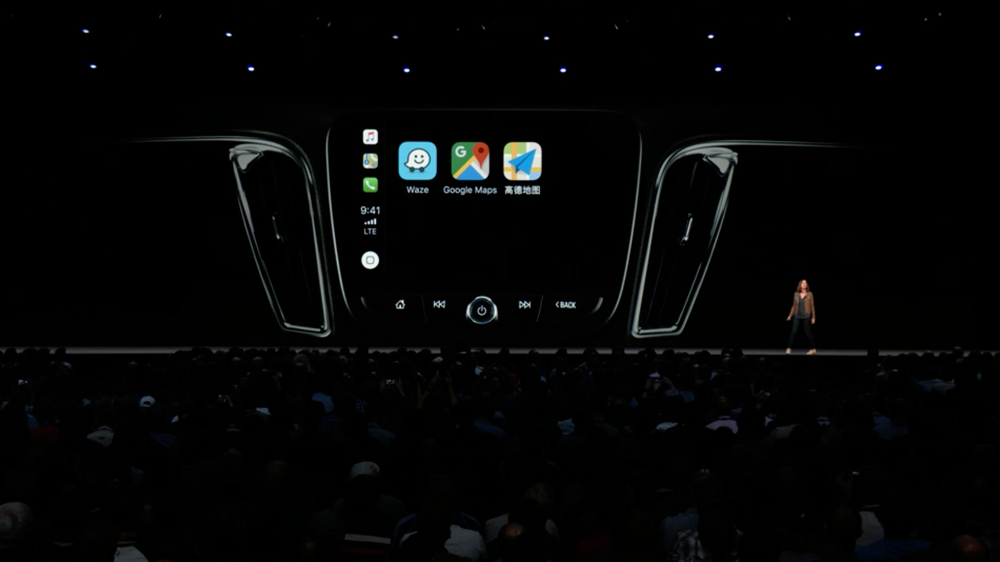 WWDC 2018 - Apple CarPlay com app de terceiros (Waze e Google Maps)