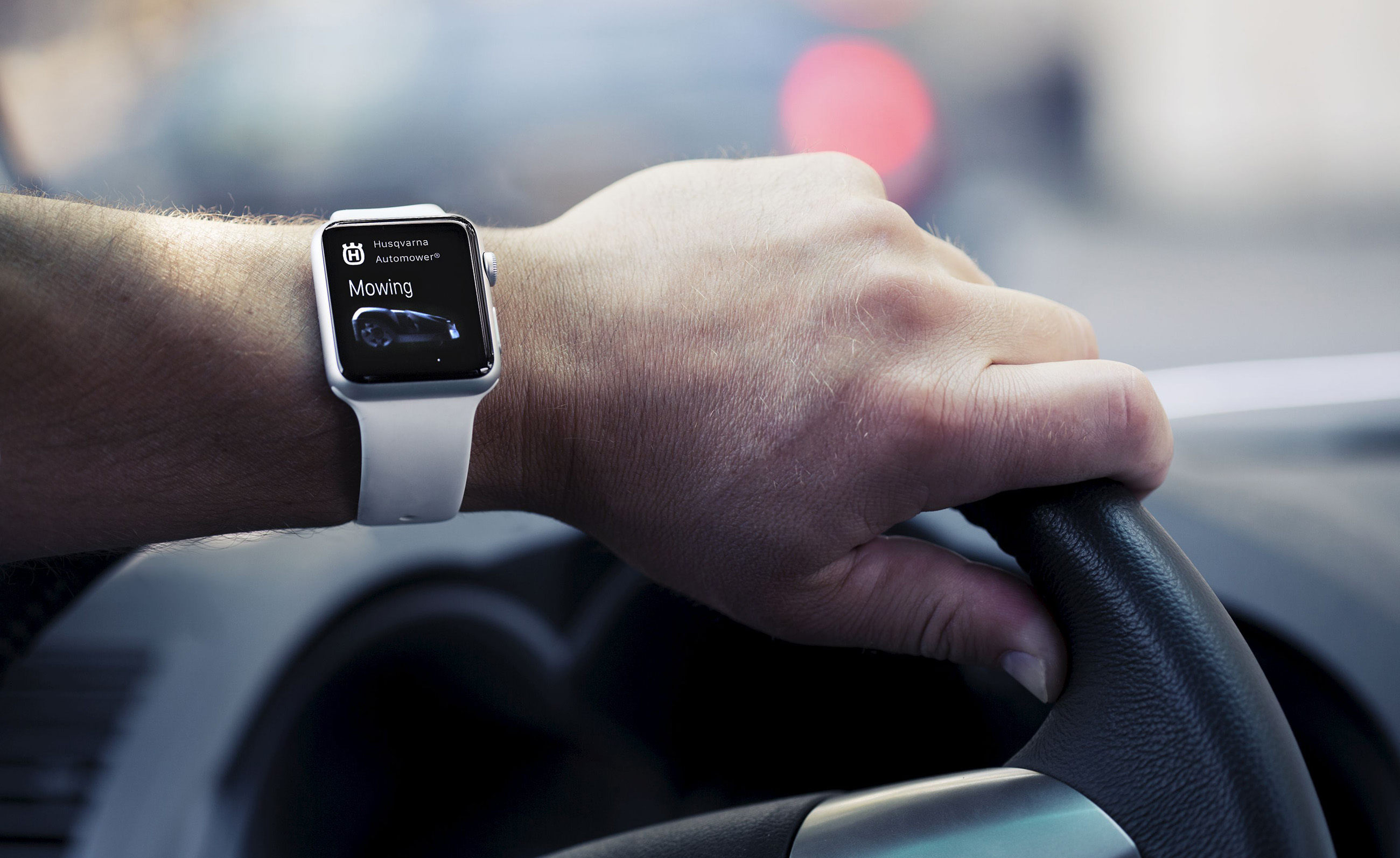 Apple Watch ao volante
