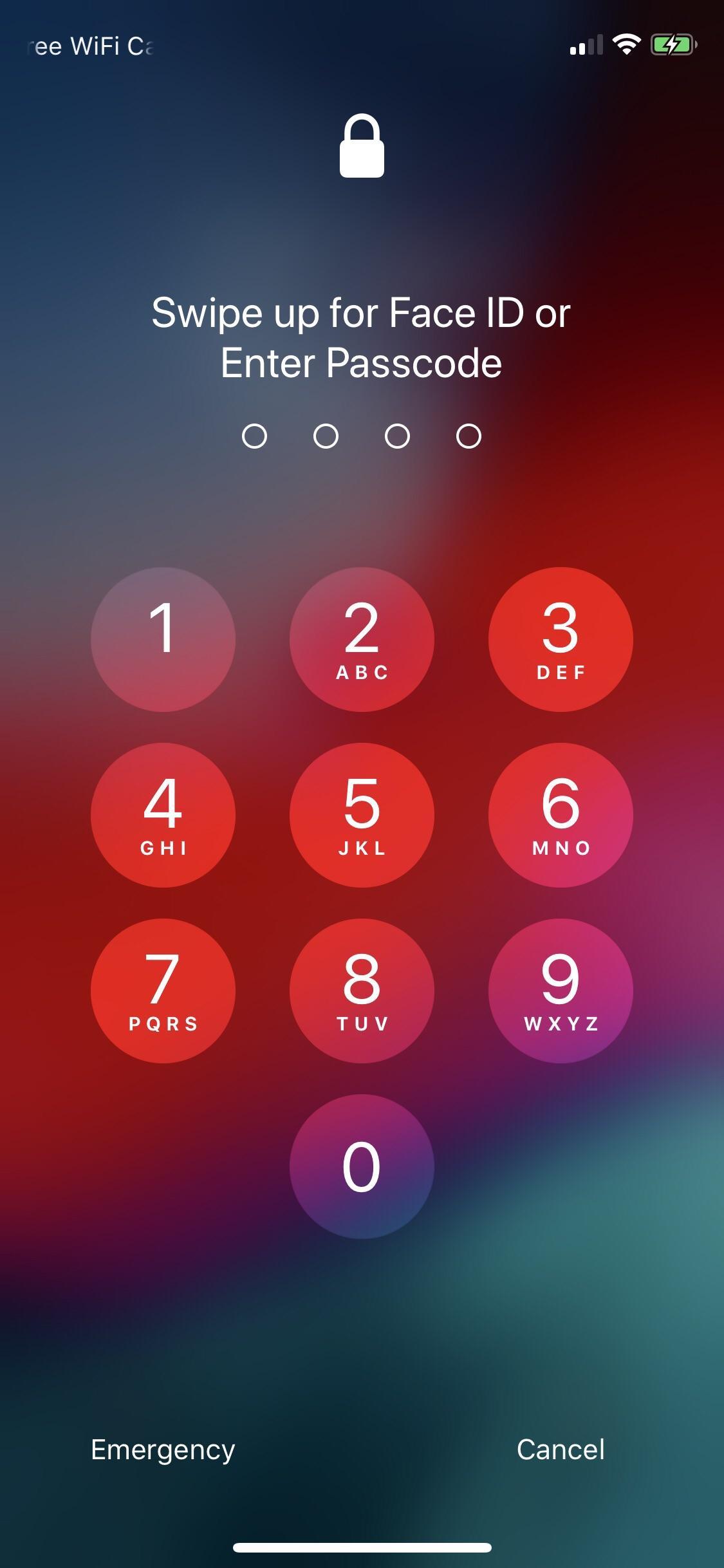 Screenshot do iOS 12 beta