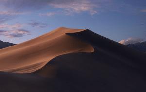 Variações do wallpaper padrão do macOS Mojave