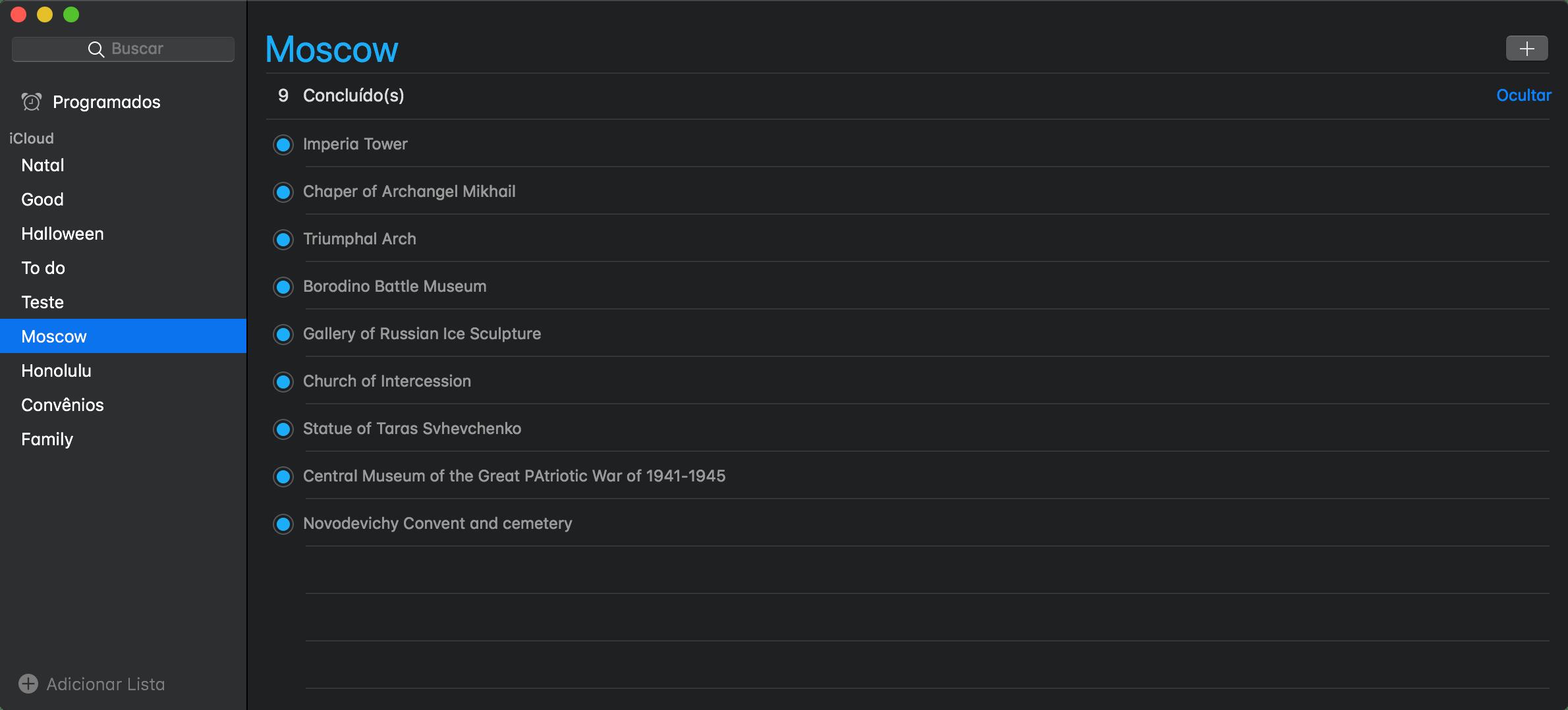 Modo Escuro no macOS 10.14 Mojave