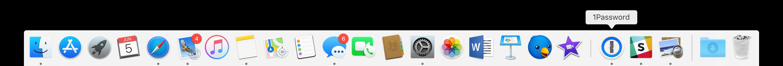 Apps Recentes no Dock do macOS 10.14 Mojave