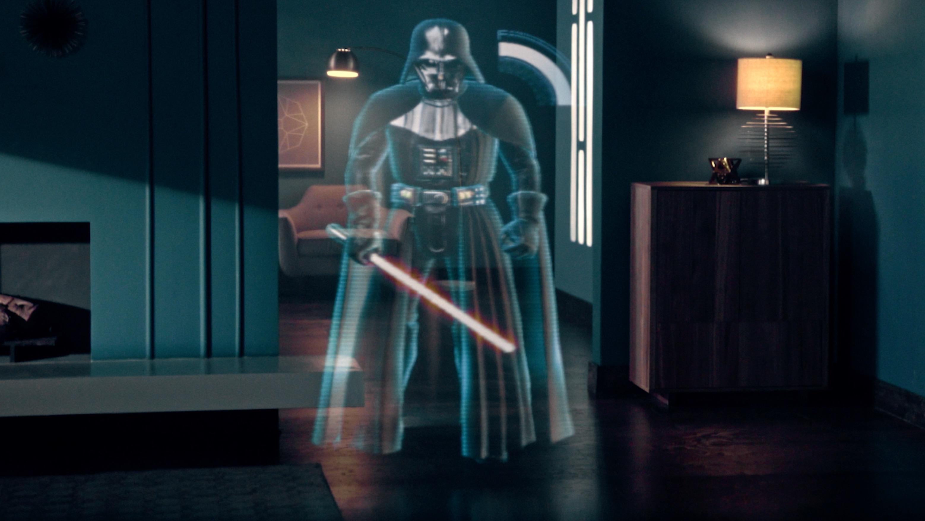 Jogo em realidade aumentada Star Wars: Jedi Challenges