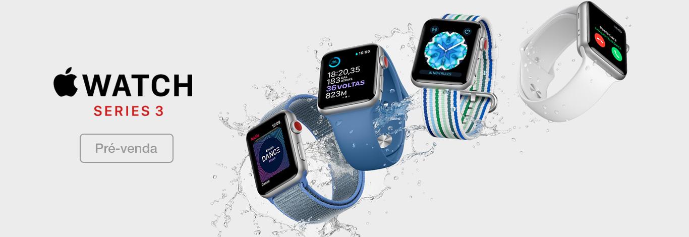 Apple Watch Series 3 em pré-venda na Claro