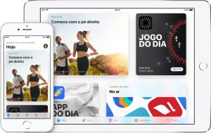 App Store no iPhone e no iPad