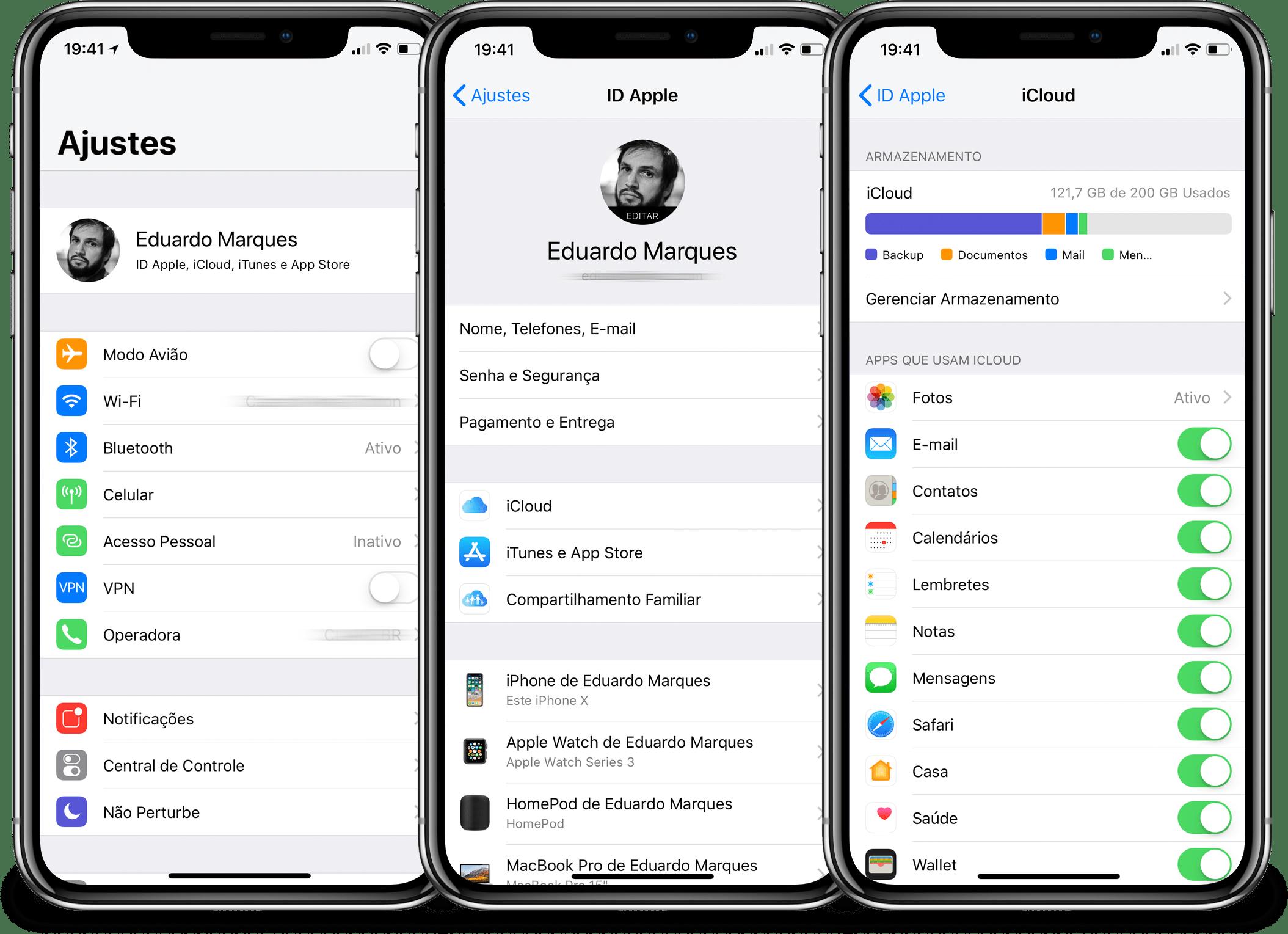 Enabling Messages in iCloud