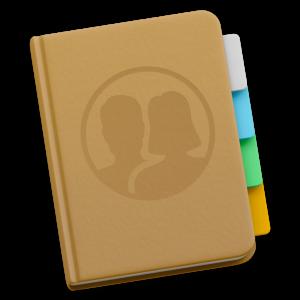 Ícone - Contatos do macOS