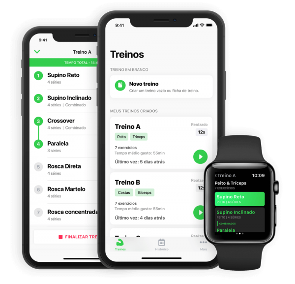 App Hercules para iOS e watchOS