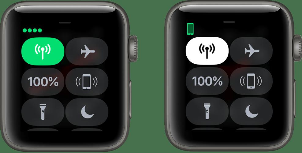Central de Controle do Apple Watch Series 3 (GPS + Cellular)