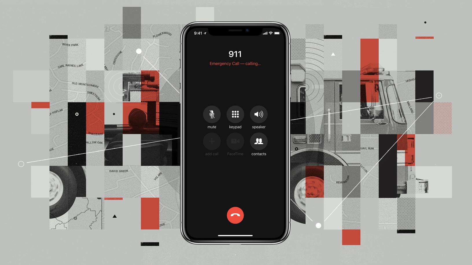 iOS 12 ligando pro 911
