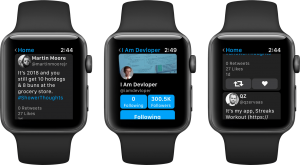 App Chirp em Apple Watches