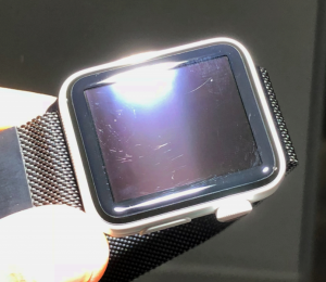 Apple Watch riscado