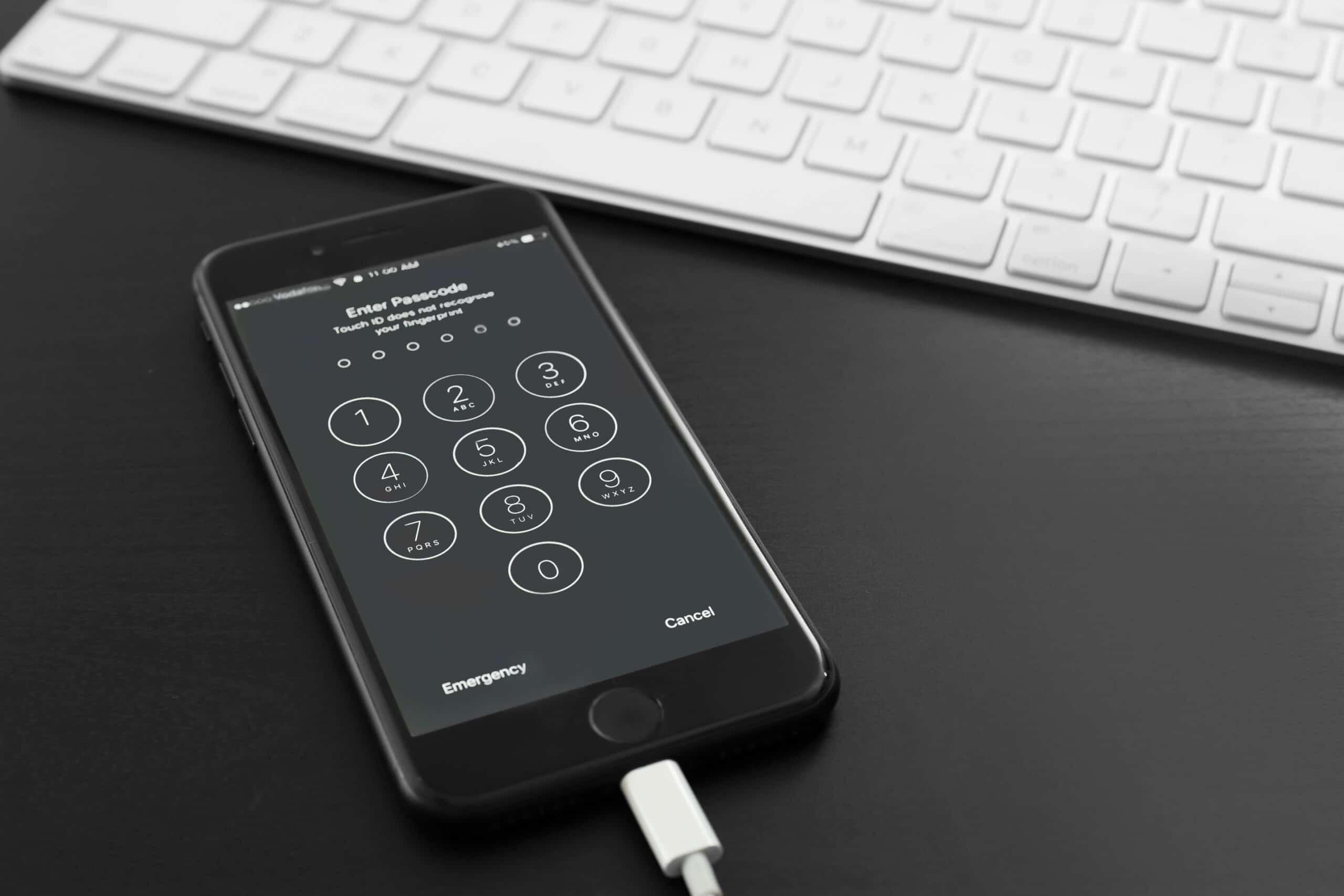 Senha do iPhone