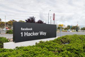 Sede do Facebook, em Menlo Park (na Califórnia)