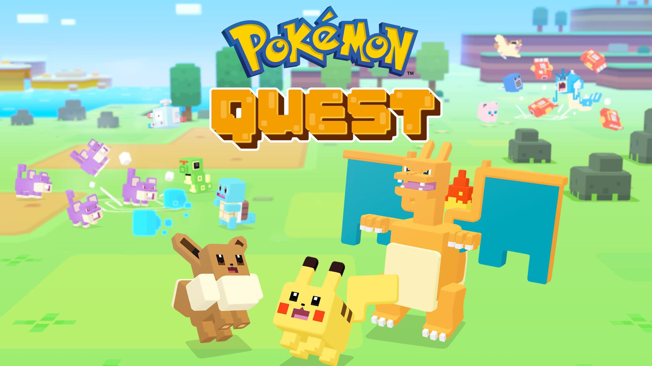 Jogo Pokémon Quest para iOS e Android
