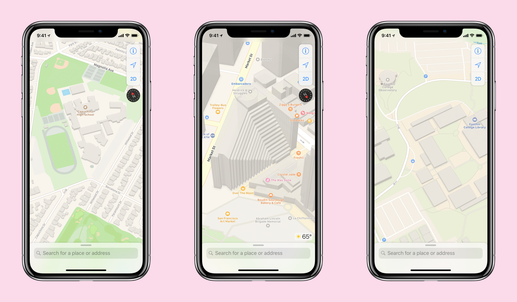 Novos Mapas da Apple