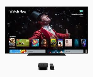 Apple TV 4K com o tvOS 12
