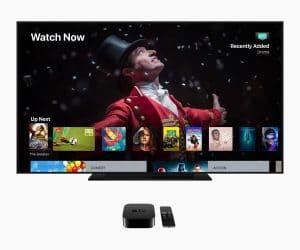 Apple TV 4K com o tvOS 12