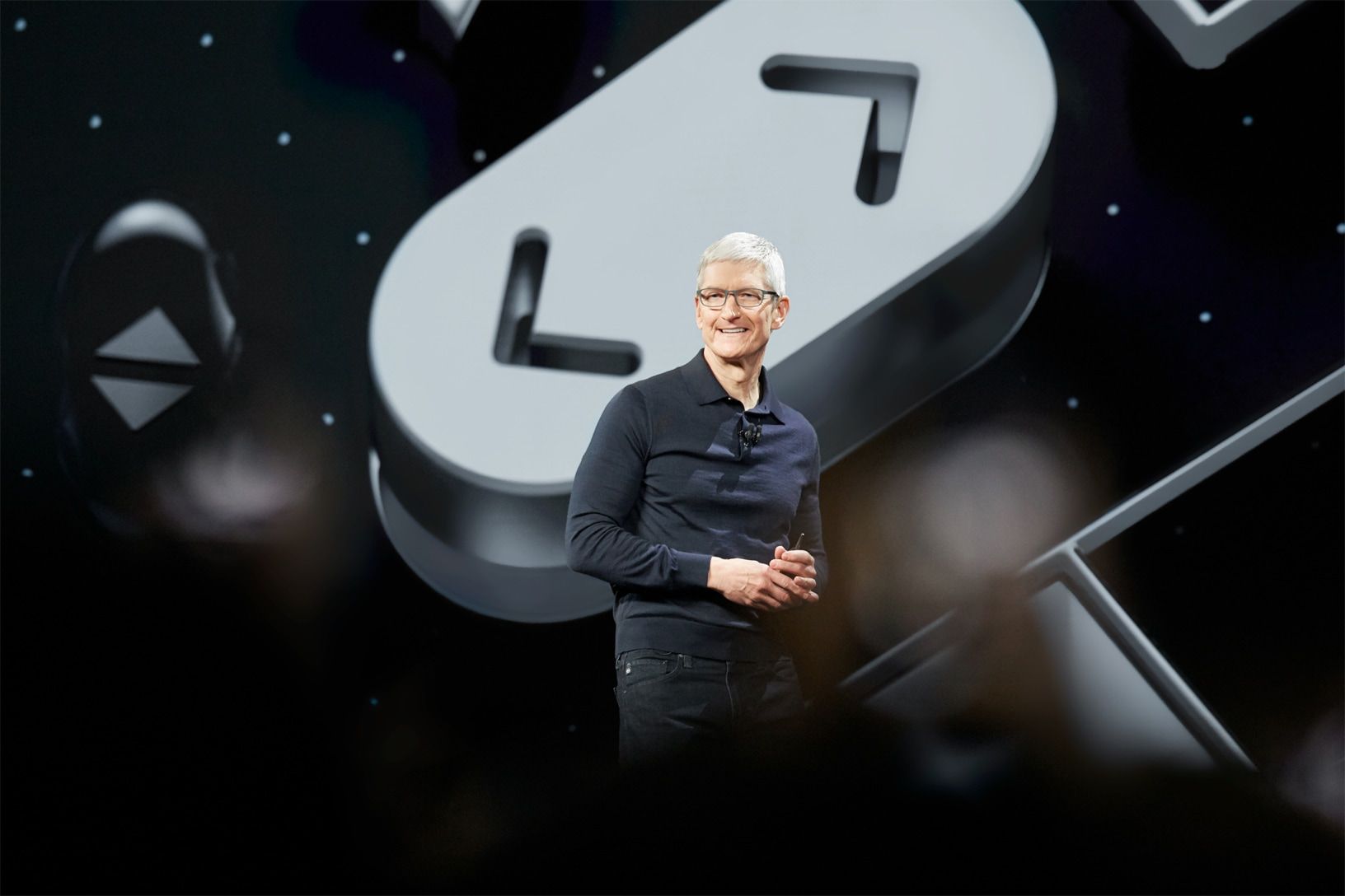 Tim Cook na keynote de abertura da WWDC18