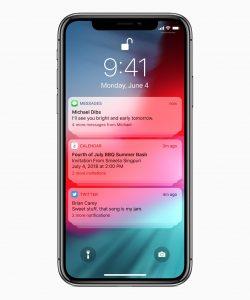 Notificações agrupadas no iOS 12