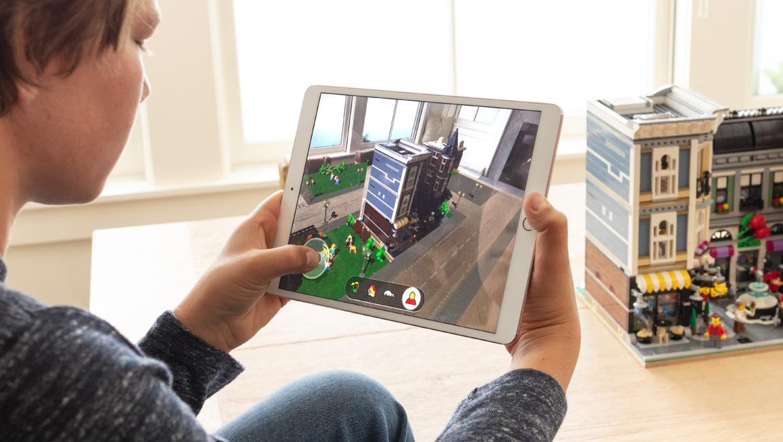 AR com LEGO no iOS 12
