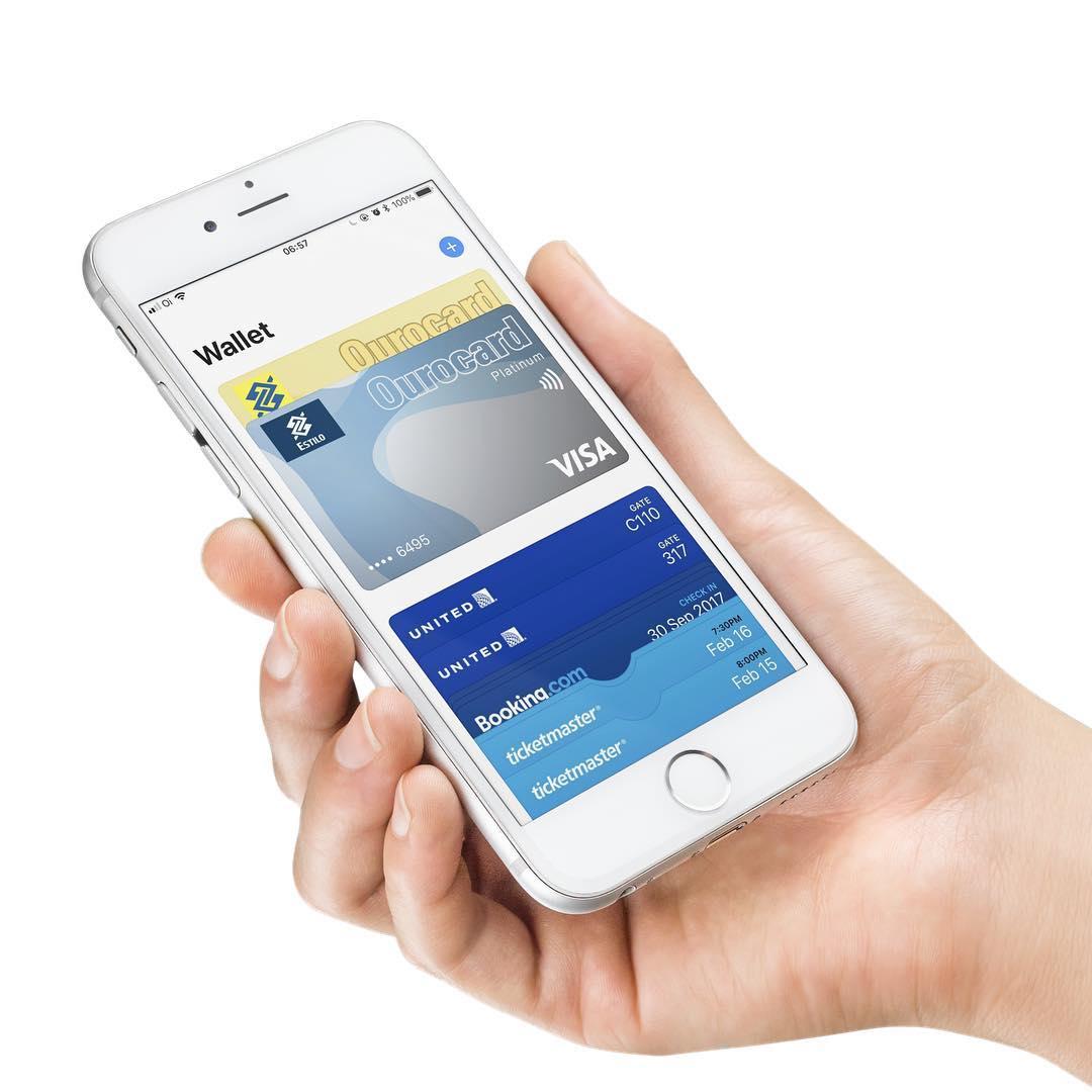 Cartão de crédito do Banco do Brasil (Ourocard) no Apple Pay