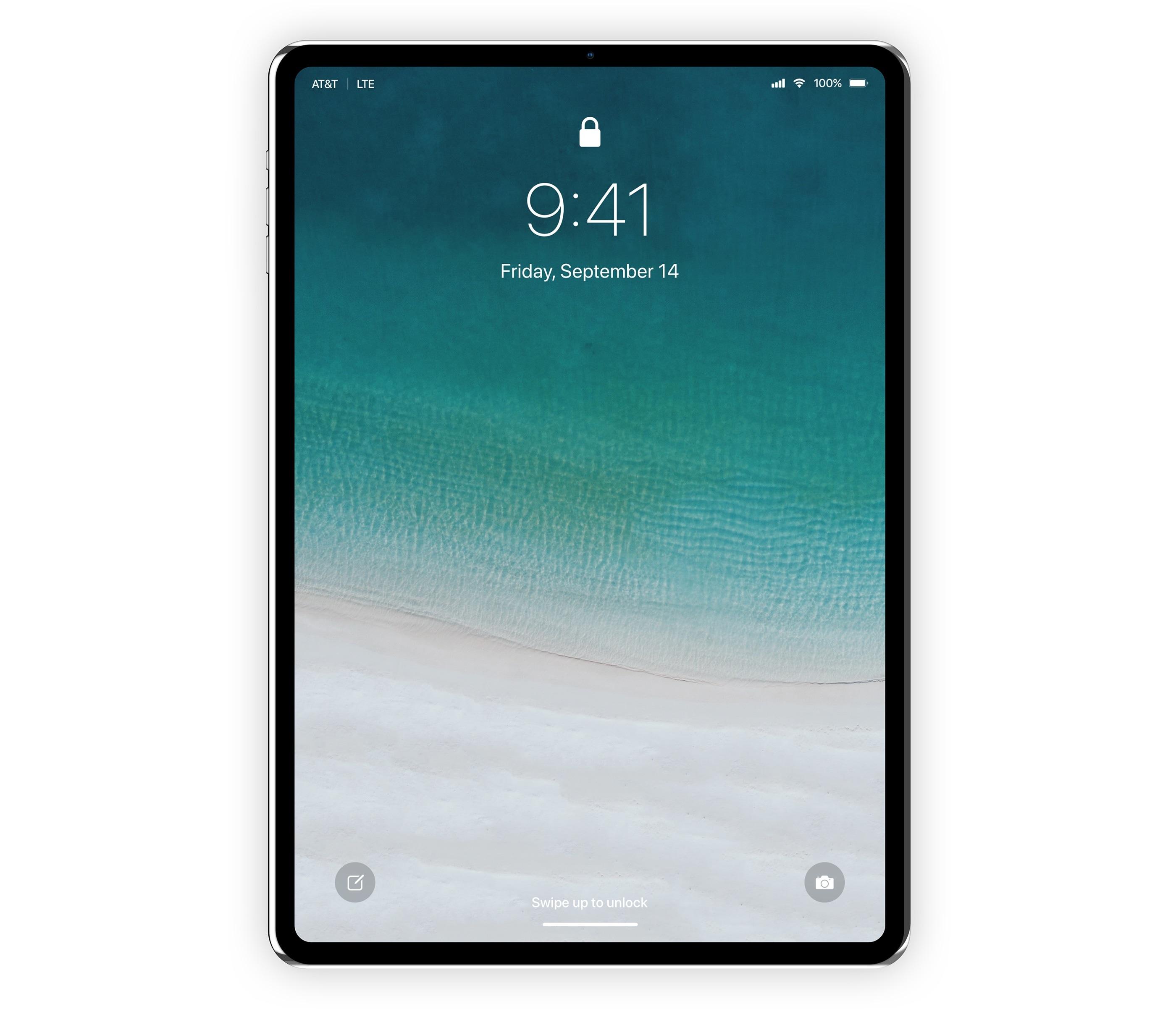 iPad Pro com Face ID